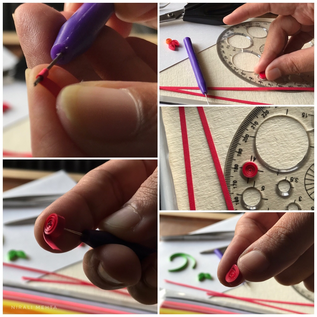 Making Paper Quilling Beads