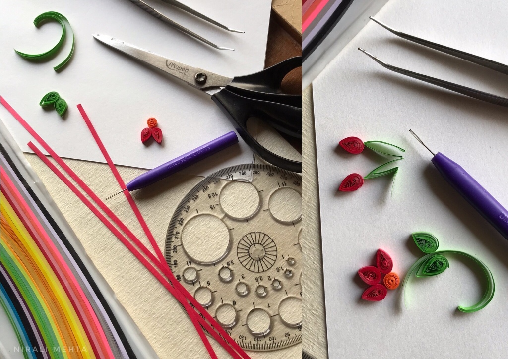 Materials for Paper Quilling
