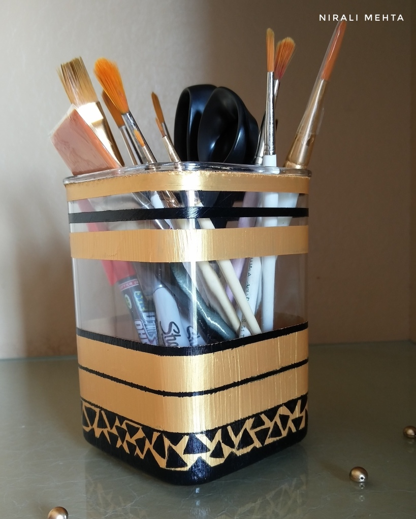 Recycled Pen Stand Acrylic
