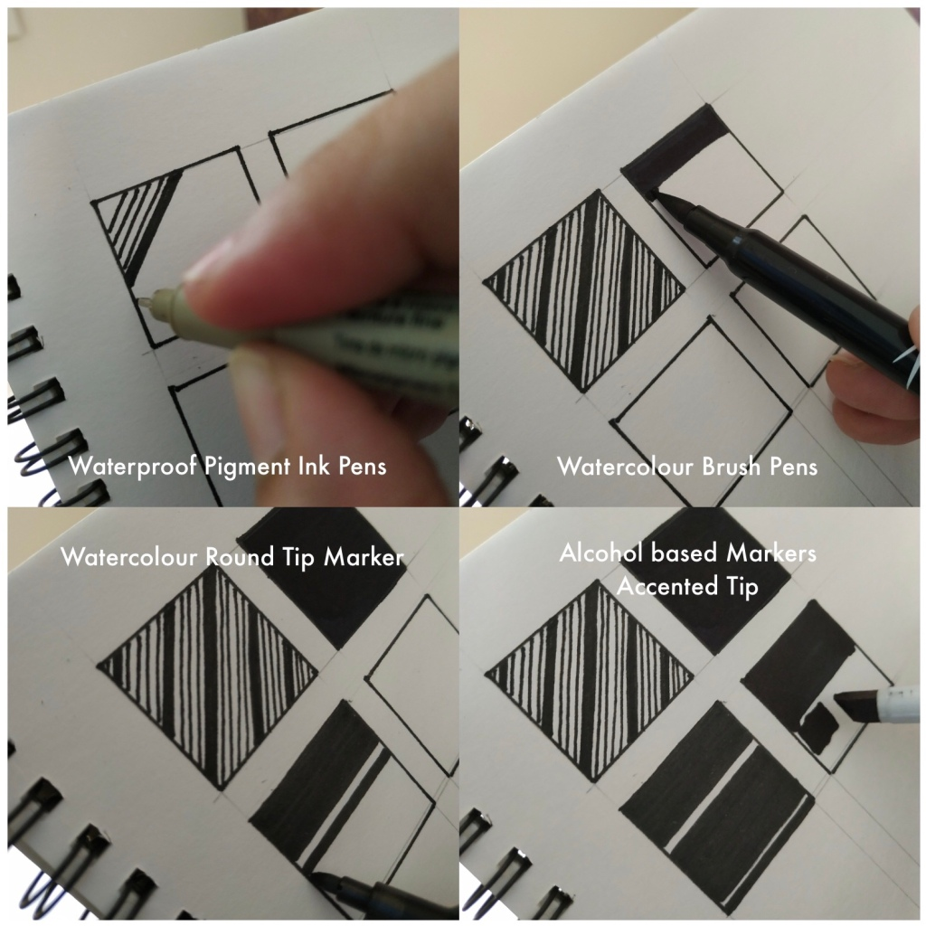 How to hold Marker Pens