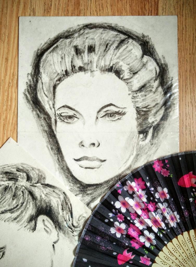 Charcoal  Sketching