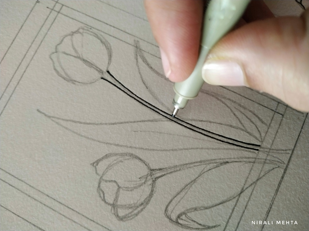 Step 2A  drawing